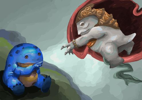The Creation of Quaggan by ThisIsIsi