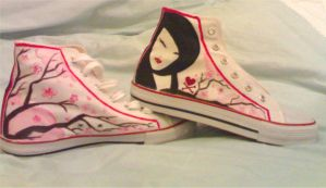 Tokidoki Painted Shoes-1 by olamo