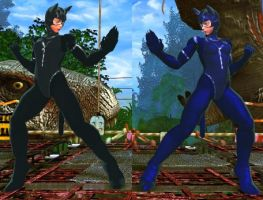 SFxT Mod - Cammy: Catwoman (with tail) by Segadordelinks
