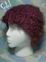 Magenta Super Soft Silky Hat by SmilingMoonCreations