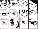 Ao No Exorcist Eyes by Randazzle100