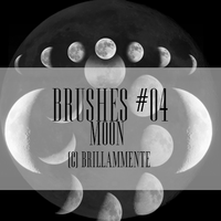 Brushes #04 (Moon) by lucemare