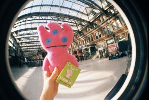 ugly doll pink by LTKJJ