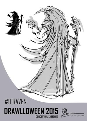 DH11 raven by laurabevon by LauraBevon