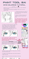 Paint Tool SAI Eye Coloring Tutorial by Owlteria