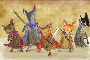 Mouse Guard by thedriveintheatre