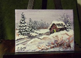 ACEO Landscape #1 by annieoakley64