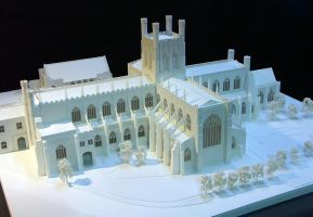 Chester Cathedral Model by Rumblebook