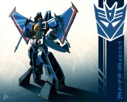 MP Thundercracker commission by dcjosh