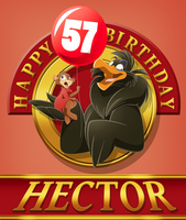 Happy Birthday HectorNY by WhiteLionWarrior