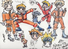 Naruto Left Hand Version by themalletofjustice