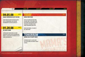 Mama's Brewhouse Web-template by mattnagy
