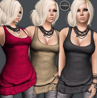 AngelRED Couture - Mesh Akira Top by BloodAppleKiss