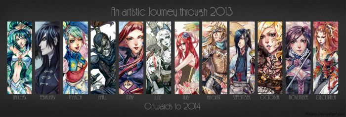 2013 Art Summary by Kutty-Sark