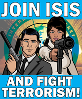 ISIS Recruitment Poster by Party9999999