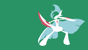 Mega Gallade by DashingHero