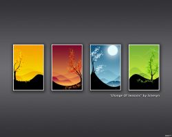 'Change Of Seasons' - Carbon by RadishTM