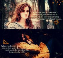 Hermione and Bella by tuhin98