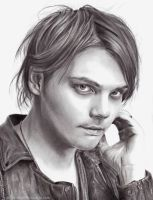 Gerard Way by ArtByBryanna