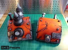 Borderlands Bandit Steve Cosplay shoulder pads by SKSProps