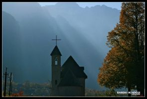 A small church in Theth by ChR1sAlbo