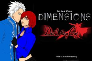 Dimensions: The Game World- Devil May Cry Cover by NightAngel-16