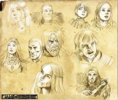 Game of Thrones sketches by MatiasSoto
