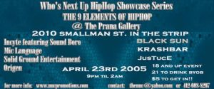 2005 Hip Hop Flyer One Sided by divineattack