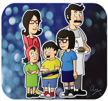 The Belchers by neoalxtopi