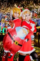 Vocaloid 2 - Kagamine Xmas by rolan666