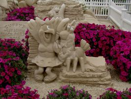 Sand Sculptures by TriciaStucenski