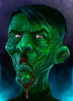 Zombie Hitler by ScottPurdy