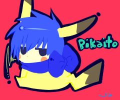 vocaloid-pika pi by leojiaz