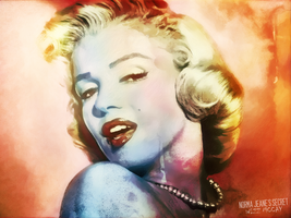 Norma Jean's Secret by wizz-mccay