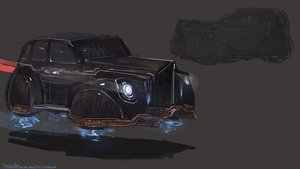 The Maker's Eden - Car Concept by JoshuaNel