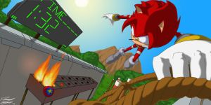 AT. Killer4. Dare the Hedgehog by Toughset