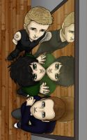 Green Day Mirror by kelly42fox