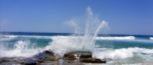 Sea Fountain by ElocinImages