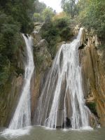 Mussoorie waterfall, india by NayanKamaliya