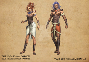 Tales of Arcana 1st Set - Gorgon by TalesofArcanaRPG