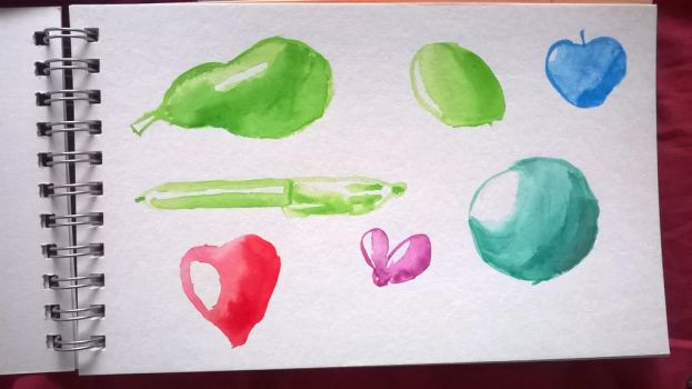 Watercolor - First attempt by SuperTurok