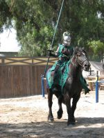 EvenMore Knight Joust Stock 10 by tursiart