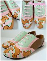 Sausage Dog Brogues by ponychops