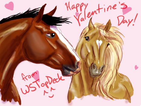 Happy Valentine's Day by WSTopDeck