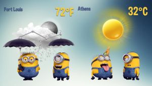 Despicable Me Weather HD 2 for xwidget by jimking