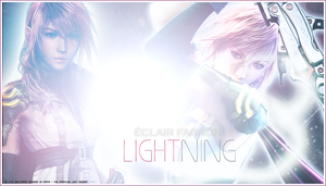 Eclair Farron aka Lightning by the-sparkling-light
