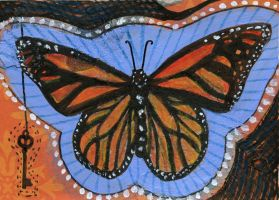 Monarch ACEO by AshleighPopplewell
