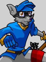 Sly Cooper by CryoBadgers