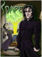 Severus Snape by REBELComx