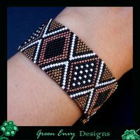 African Mudcloth modelled by green-envy-designs